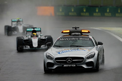 Safety-Car-Phase: Lewis Hamilton, Mercedes AMG F1 W07 Hybrid, führt