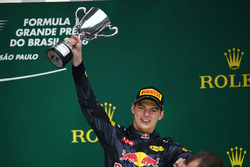 Derde plaats Max Verstappen, Red Bull Racing