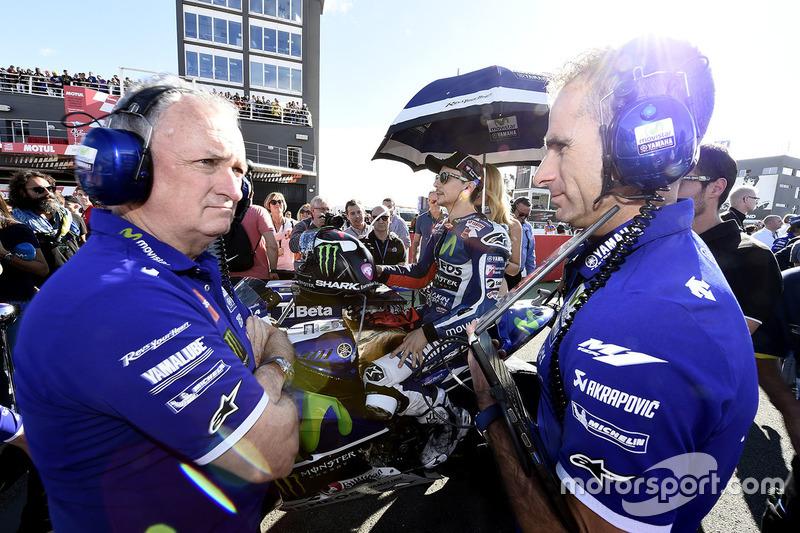 Хорхе Лоренсо, Yamaha Factory Racing, Рамон Форкада