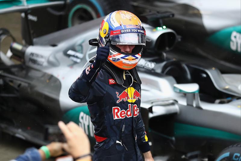 Tercer lugar Max Verstappen, Red Bull Racing