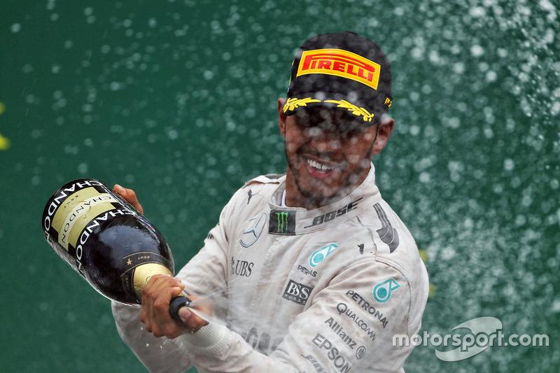 103e podium pour Hamilton