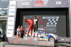 Podyum WRC2: 1. Michel Fabre, Maxime Vilmot