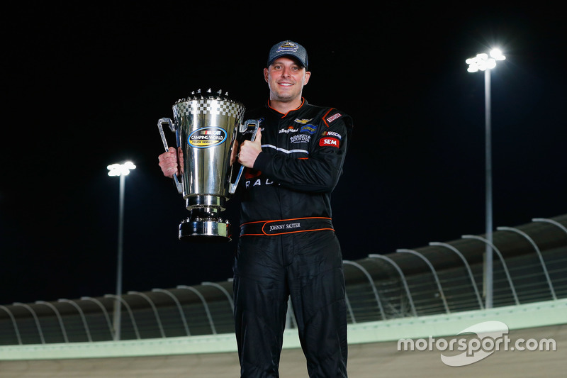 NASCAR Truck: Johnny Sauter, GMS Racing