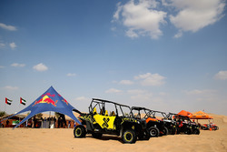 Atmosphère du Red Bull Racing Sunset Sands