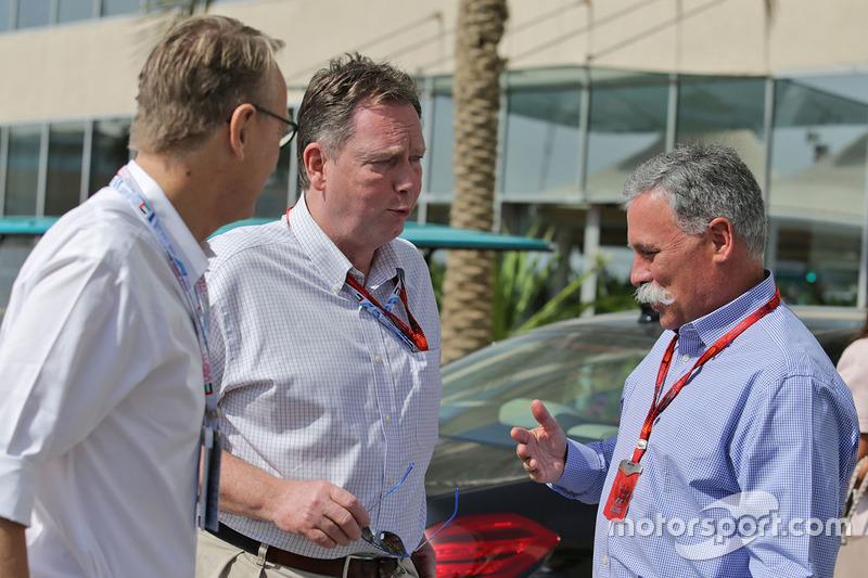 Chase Carey, presidente del Grupo de la Fórmula 1