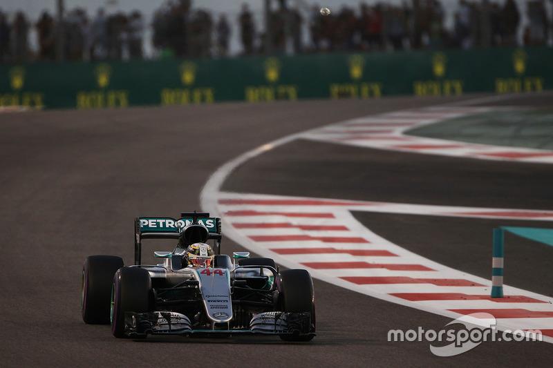 Abu Dhabi, Abu Dhabi: Lewis Hamilton (Mercedes)