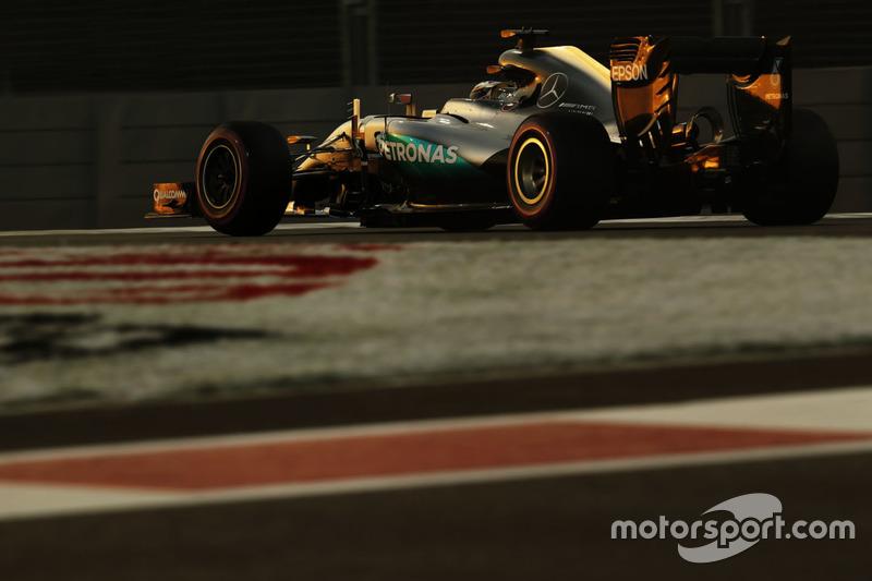 Гран Прі Абу-Дабі 2016, Mercedes F1 W07 Hybrid