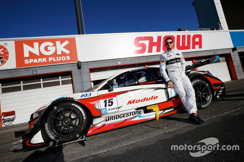 Jenson Button, Honda NSX Concept-GT
