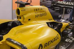 Renault RS16, dettaglio