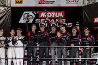 Podium: 1. #15 Audi Sport Team Phoenix, Audi R8 LMS: Christopher Haase, Robin Frijns, Laurens Vanthoor; 2. #911 Manthey Racing Porsche 911 GT3R: Earl Bamber, Nick Tandy, Patrick Pilet; 3. #16 Audi Sport Team Phoenix, Audi R8 LMS: Pierre Kaffer, Rene Rast, Markus Winkelhock