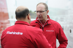 Mufaddal Choonia, Mahindra Racing SPA CEO, Davide Borghesi, Mahindra Racing Tasarım Şefi