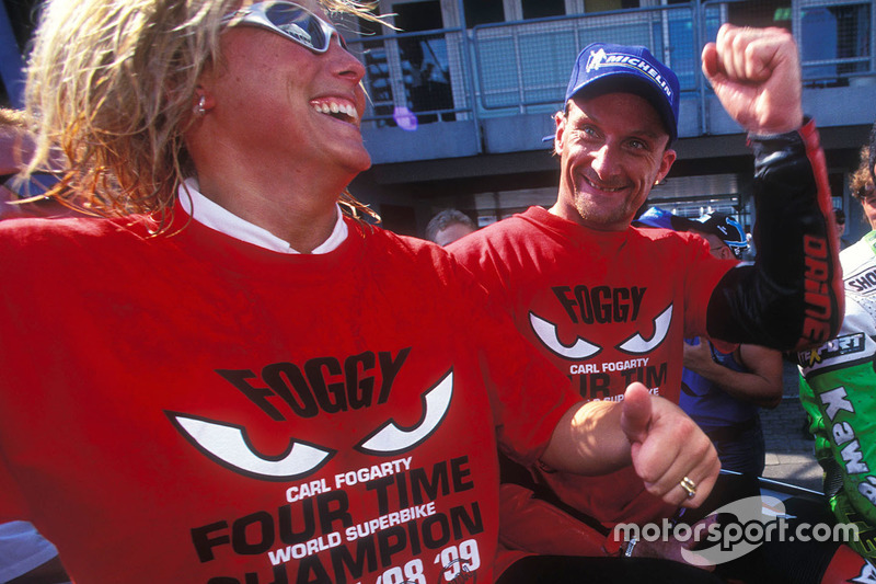 Carl et Michaela Fogarty, Ducati