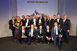 Die Preisträger der ADAC-Sportgala 2016
