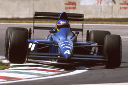 Michele Alboreto, Tyrrell Racing 018 Ford