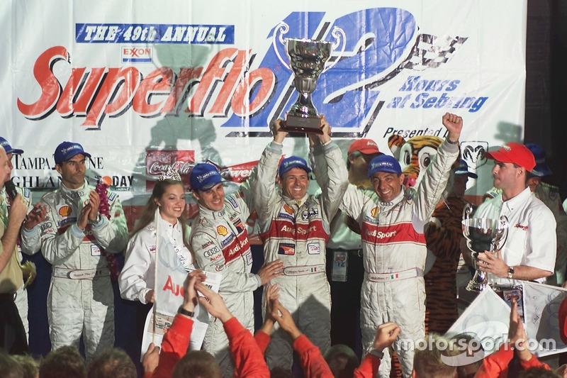 2001: #1 Audi Sport North America, Audi R8