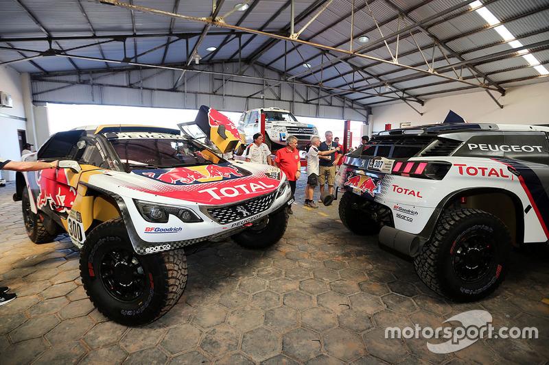 Verificaciones Peugeot Sport