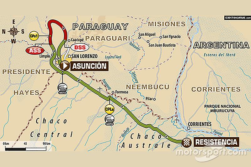 Etapa 1: Asunción - Resistencia