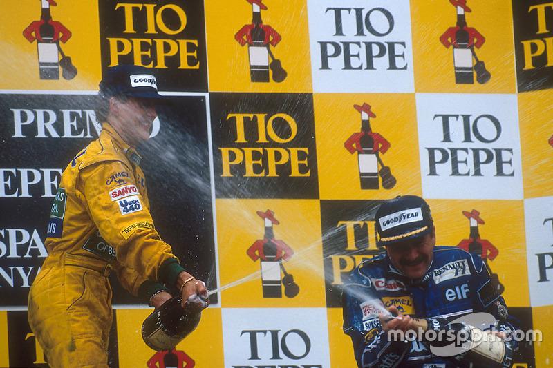 GP Spanien: Platz 1