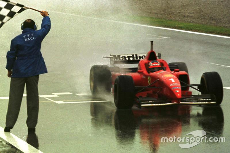 Michael Schumacher, máximo ganador en España