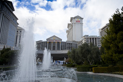 Fountains in front of Caesars Palace