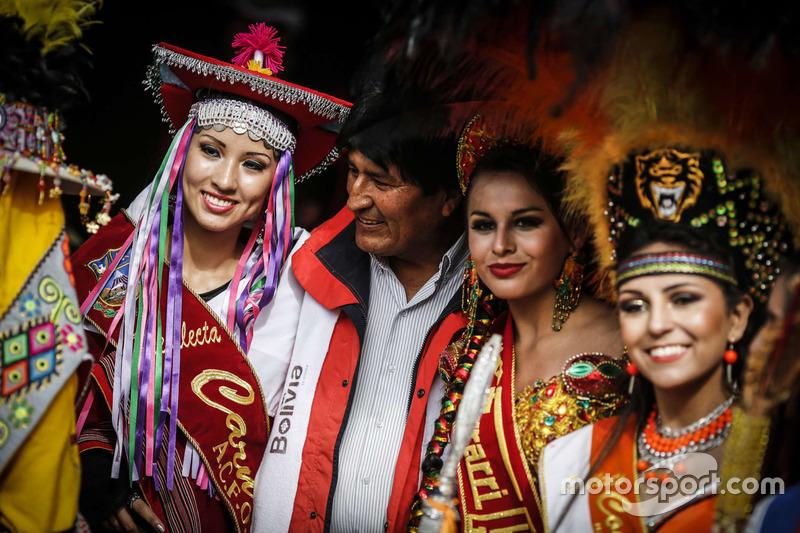 Почесна охорона президента Болівії Ево Моралеса