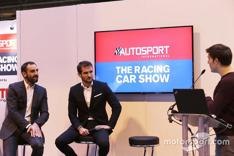 Belangrijke gasten, zoals Cyril Abiteboul, directeur Renault Sport F1 Team, Tommaso Volpe, Infiniti Global Director van motorsport