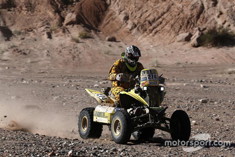 #274 Yamaha: Carlos Alejandro Verza