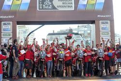 №33 Himoinsa Racing Team KTM: Антонио Гимено Гарсия, №8 Himoinsa Racing Team KTM: Жерар Фаррес, №81 Himoinsa Racing Team KTM: Роза Ромеро, №82 Himoinsa Racing Team KTM: Даниэль Оливерас