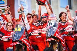 №8 Himoinsa Racing Team KTM: Жерар Фаррес, №81 Himoinsa Racing Team KTM: Роза Ромеро