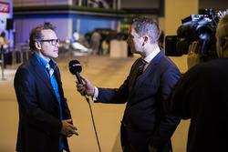 Jacques Villeneuve entrevistado Sky Sports