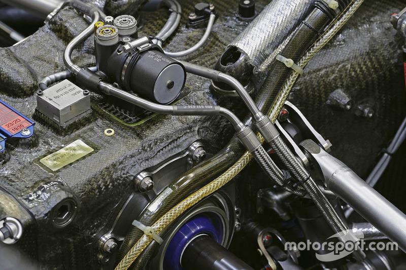 Audi R18: Getriebedetail