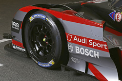 #8 Audi Sport Team Joest Audi R18 detalle del frente