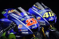 Le moto di Valentino Rossi, Yamaha Factory Racing e Maverick Viñales, Yamaha Factory Racing