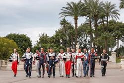 Групове фото пілотів WRC