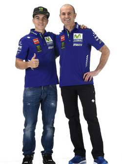 Massimo Meregalli, director del equipo Yamaha Factory Racing, Maverick Viñales, Yamaha Factory Racing