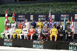 Todos los pilotos de la  Copa de Naciones