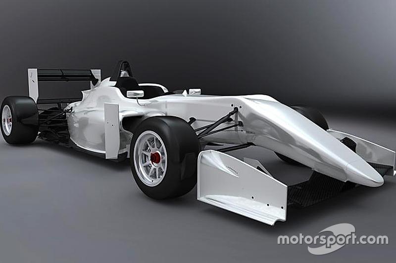 Representación de coche F3 2017