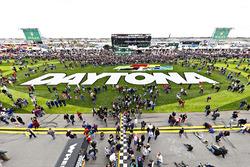 Fans am Daytona International Speedway
