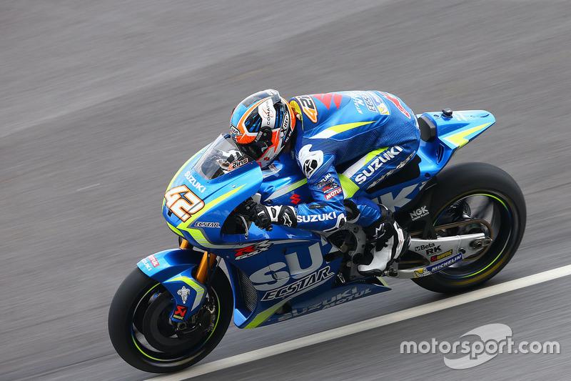12º Alex Rins (Suzuki ECSTAR) 2:00.057 a 0.689