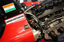 La voiture de Narain Karthikeyan