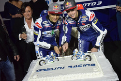 Jorge Martín, Gresini Racing Team y Fabio Di Giannantonio, Gresini Racing Team