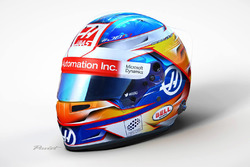 Romain Grosjean helmet