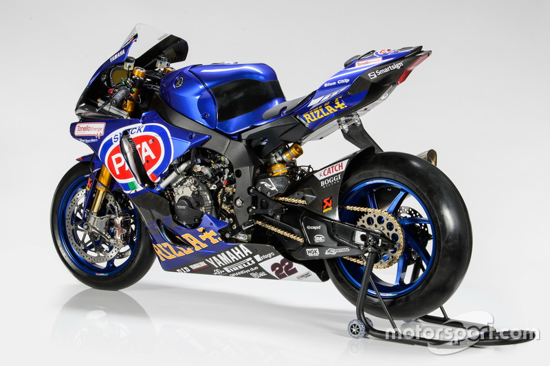 Moto de Alex Lowes, Pata Yamaha Racing