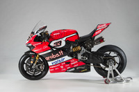 Detail bike, Marco Melandri, Ducati Team