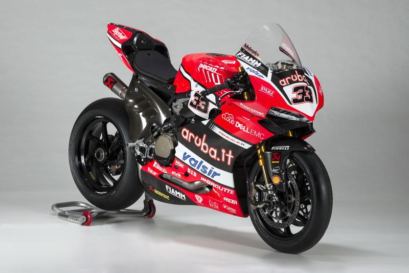 Motor van Marco Melandri, Ducati Team