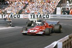Жаки Икс, Ferrari 312B3, и Уилсон Фиттипальди, Brabham BT42 Ford