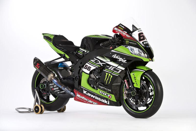 La moto de Tom Sykes, Kawasaki Racing