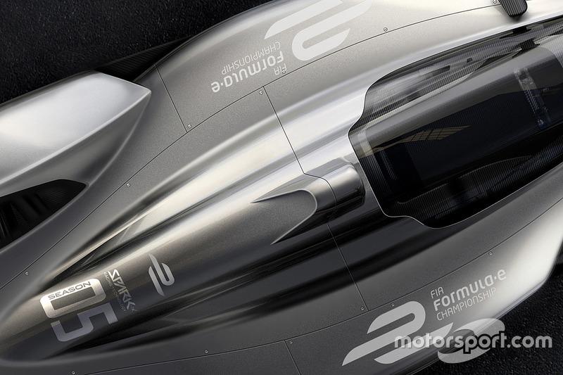 Rancangan mobil Formula E Spark Racing
