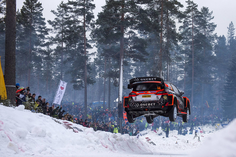 Мадс Остберг и Ола Флёне, Ford Fiesta WRC, Onebet Jipocar WRT
