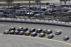 Brad Keselowski, Team Penske Ford leads